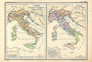 Cartina antica italia