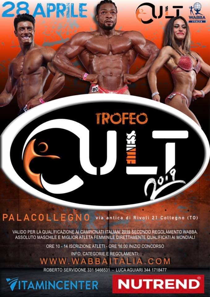 Locandina cult fitness