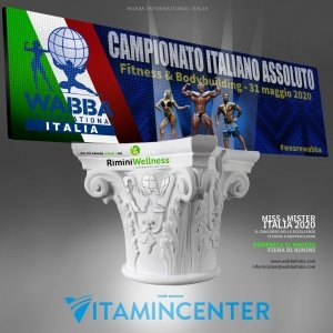 Poster Campionati Italiani 2020