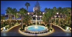 Vista hotel Ariston Paestum