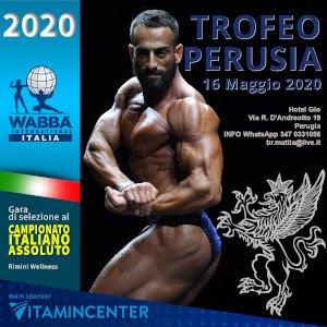 Locandina Trofeo Perusia 2020