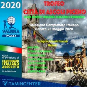 Locandina Trofeo Ascoli Piceno 2020