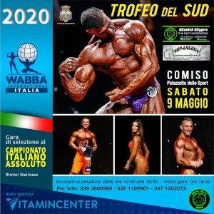 Locandina Trofeo del Sud 2020