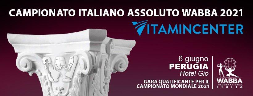Banner Campionato Italiano WABBA Italia 2021 (Perugia)