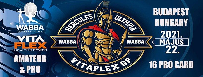 Banner Hercules Olympia Hungary 2021