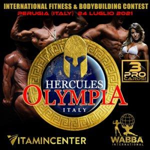 Locandina Hercules Olympia Italy Luglio 2021