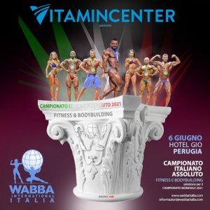 Locandina Campionato Italiano WABBA Italia 2021 (Perugia)