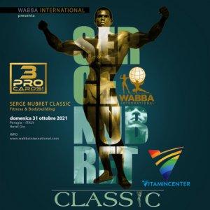 Locandina Serge Nubret Classic 2021