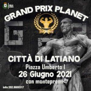 Locandina Grand Prix Latiano 2021